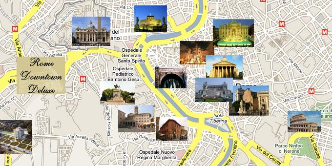 Cartina Roma Piazza Navona.Bed And Breakfast A Roma Vicino Al Vaticano Vaticandeluxe